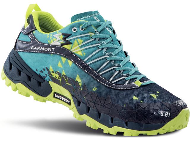 Garmont 9.81 Bolt Shoes blue/yellow